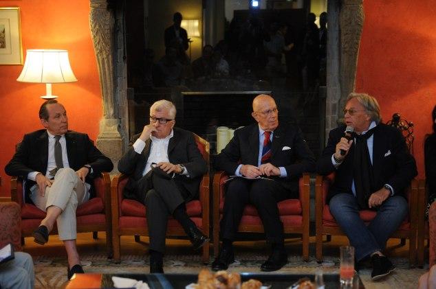 Gildo Zegna, Patrizio Bertelli, Cav. Mario Boselli, Diego Della Valle