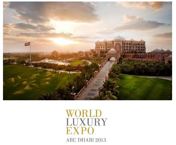 World Luxury Expo, Abu Dhabi 2013