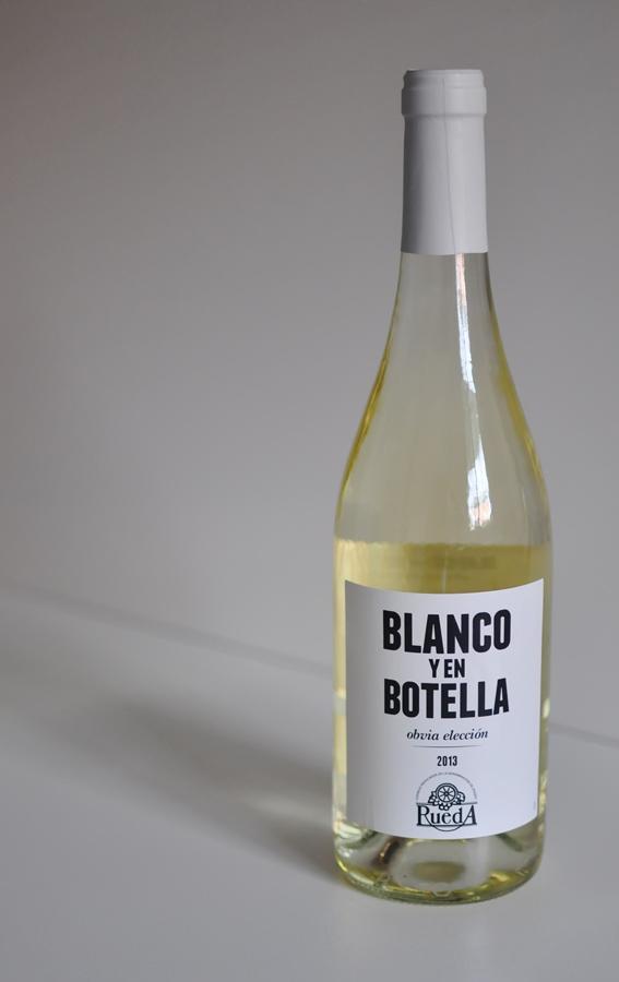blanco y en botella