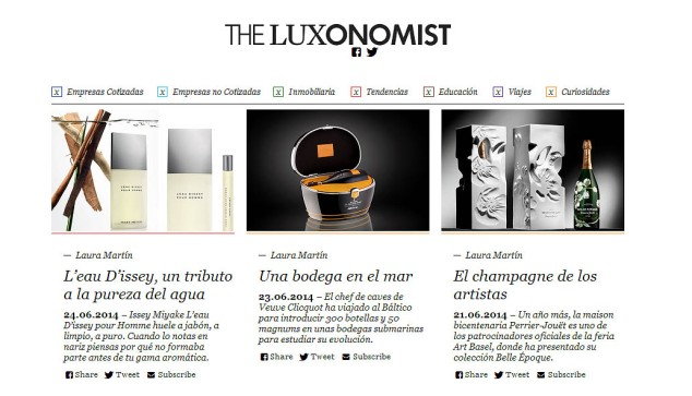 the luxonomist