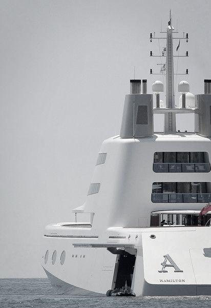 Andrey Melnichenko's Yacht in Malibu