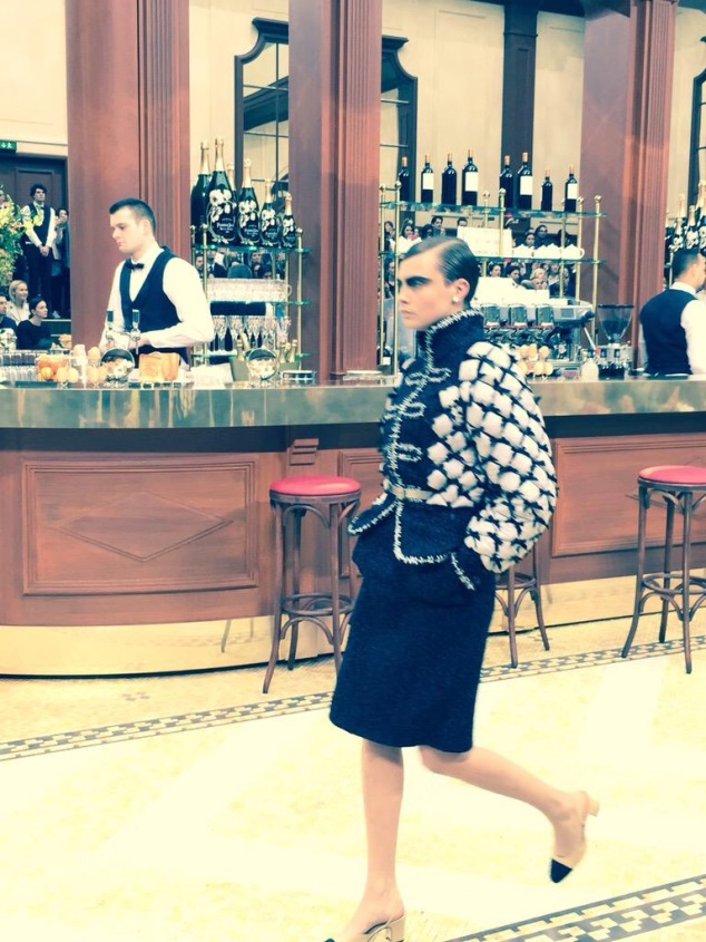 Cara Delevigne Chanel