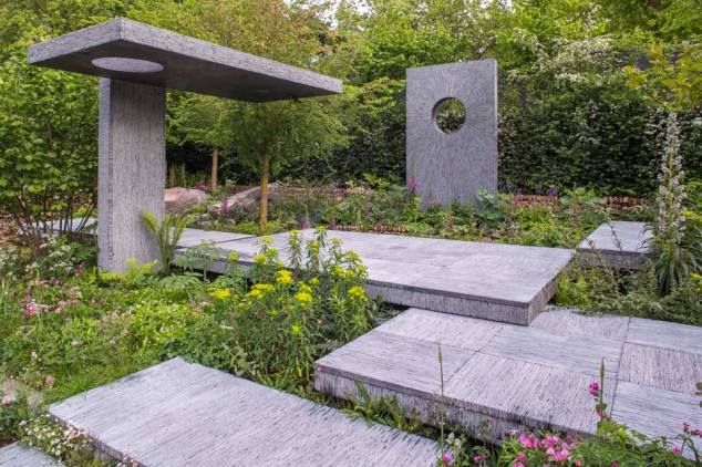 The Brewin Dolphin Garden, Designed by Darren Hawkes Landscapes