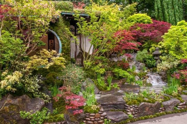 Edo no Niwa - Edo Garden by Ishihara Kazuyuki Design Laboratory, Designed by Kazuyuki Ishihara