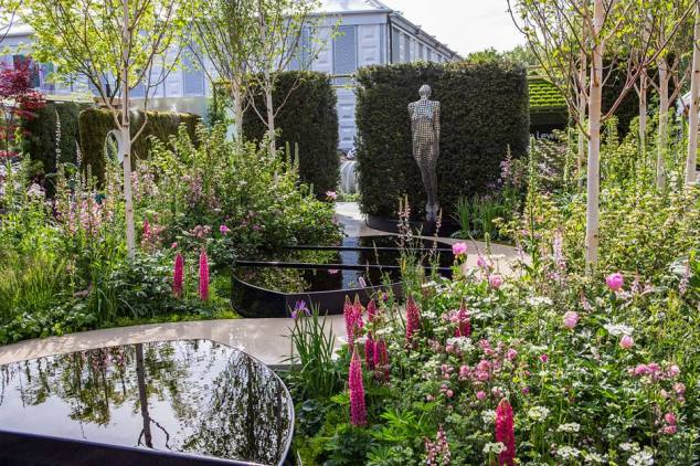 Breakthrough Breast Cancer Garden, Designed by Ruth Willmott