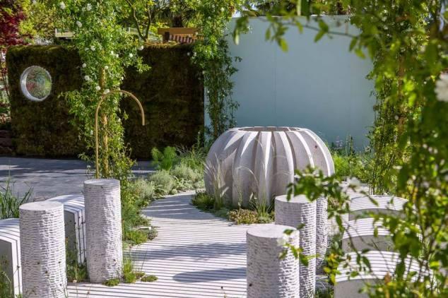 Water Station Garden by Pepa s Krasa, Designed by Borut Benedejčič