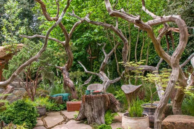 The Sculptor's Picnic Garden by Walker's Nurseries, Designed by Graham Bodle