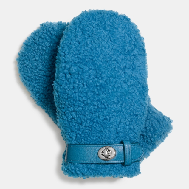 85986_Coach Sheepskin Mittens 275GBP_Peacock