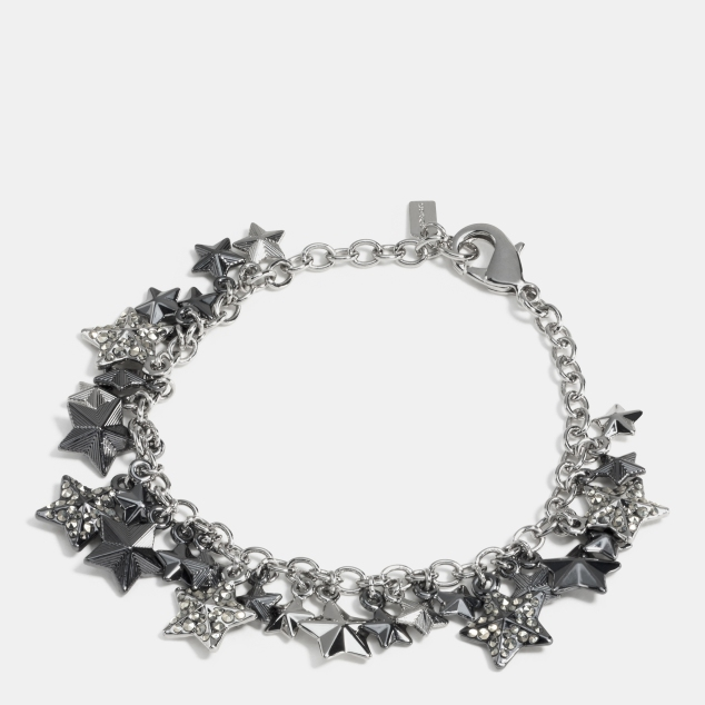 90841Coach_Pave metal stars charm bracelet 115GBP - uk.coach.com