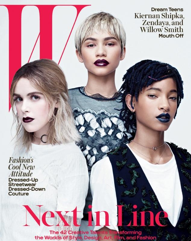 W-Magazine-April-2016-Zendaya-Kiernan-Shipka-and-Willow-Smith-by-Willy-Vanderperre-11