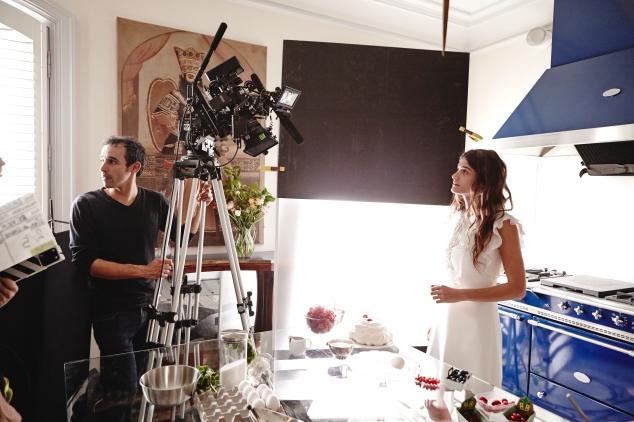 Behind the scenes_ Reverso by Christian Louboutin film - dress Giambattista Valli Resort © Roch Armando(2)